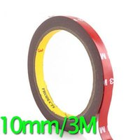 Wholesale 10mm M Auto Acrylic Foam Double Sided Attachment Tape repair sealing tape koelkastverdamper TY996