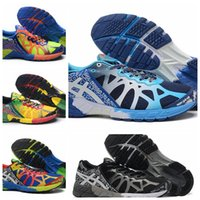 Wholesale Top Quality New Asics Gel Noosa Tri Running Shoes For Men Fashion Cool Lightweight Sneakers Breathable Sport Sneakers Eur Size
