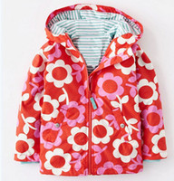 apple garments - New brand girls small apples windproof coat charge garments children coats jackets fashion baby girls coat autumn winter wear