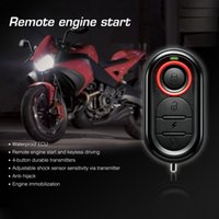 Wholesale Steelmate E Way Motorcycle Alarm System Remote Engine Start Motorcycle Engine Immobilization with Mini Transmitter K2799