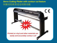 Wholesale plotter with optical contour cuting plotter and step motor drive free ship to chile