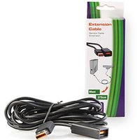 Wholesale 1 Pc Newest Feet M Black Extend Power Extension Cable Cords for XBOX Slim Kinect Sensor