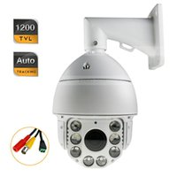 Wholesale Security HD Auto Tracking TVL PTZ IR CCTV Camera X ZOOM w D Axle Keyboard Controller