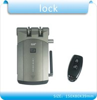 Wholesale DIY WF2081 stealth wireless Remote control home door locks smart electronic lock remoter