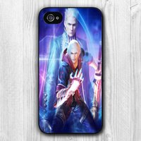 For Apple iPhone apple brothers - Yark Devil May Cry Two Brothers Hard Plastic Mobile Phone Bag Procetive Case Cover for iphone s s plus for Samsung smartphone