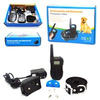 battery operated trains - 300 Meters Waterproof and Rechargeable Remote Dog Training Collar Battery Operated Dog Training Collar KD High Quality Free Shippping