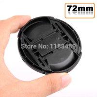 Wholesale 10pcs lens cap cover mm Center Pinch Snap on Front Cap for Lens Filters Len Caps