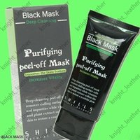 Wholesale Black Suction Mask ml SHILLS Deep Cleansing purifying peel off Black mud face mask Remove blackhead facial mask Shills Masks