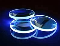 Wholesale Plano convex K9 K50 lens precision optics focusing mirror diameter mm focal length mm uncoated