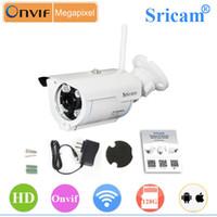 Wholesale Sricam SP007 Wireless P2P Network IP Security Camera Night Vision Surveillance Cameras Wifi P2P Smatphone Monitor Network Camera