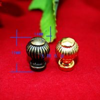 Wholesale 14 mm Antique lantern handle Gold handle hole Small handle drawer Decorative wooden gift box handle