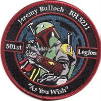 animate star - Star Wars quot Jeremy Bulloch st Legion TV Movie Animated Costume Embroidered Emblem applique sew on iron on patch