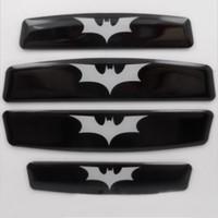 Whole Body batman bumper - Car Car Door Edge Guards Bumper Protector Anti Scratch Bat Batman X4Pcs
