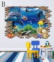 Cheap 3D Sticker Wall Stickers Best PVC Landscape Wallpaper