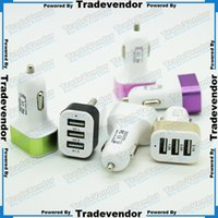 car charger - 5V A mah USB Port Car Charger Mini Car Charger Adapter For Cellphone Universal Mobile Phone Tablet PC Pad