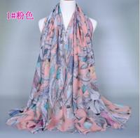beach grains - Feather grain scarves BS107 Women s Girls Scarfs Shawls Muffler beach towel fashion Scarves Scarves Wraps