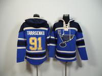 Wholesale St Louis Blues Hockey Hoodies Tarasenko Hockey Wears Comfortable Warm Sporting Jerseys Cheap Hoodies Winter Outdoor Jacket Online Sale
