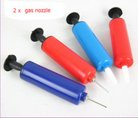 air inflation needle - NEW Basketball Football Inflation Air Ball Pump Balloon Pump with Stainless Needle gas nozzle
