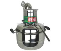 Wholesale DIY Moonshine Ethanol Stainless Distiller Litre Spirits alcohol Distillation Boiler Home Wine making Brewing equipment