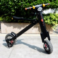 folding electric bicycle - Newest product folding electric scooter electric bicycles electric bike with lithium battery new life style for people