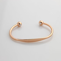 arthritis copper bracelet - Gold plated Magnetic Copper Bracelet Bangle Helps Arthritis Pain Relief B16
