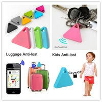 Wholesale Bluetooth Anti Lost Smart GPS Car Alarm Systems Children Kid Tracker Camera Remote Control Shutter Wireless For iphone Samsung