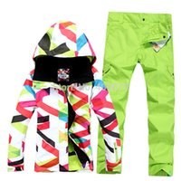 best waterproof jacket for men - Best Sales New Simple Style six colors wind waterproof Great Woman Snowboard suit for single double suit
