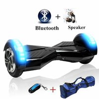 Wholesale 2pcs Inch Tire Bluetooth Smart Self Balance Scooter Two Wheel Smart Self Balancing Electric Drift Board Scooter hoverboard