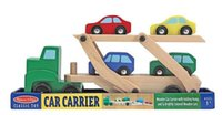 Wholesale Melissa Doug double deck Car Carrier wooden Truck transporter toys children s car toys