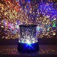 Wholesale new style Colorful cosmos stars laser LED projector Star Projector Lamp LED Night light lantern