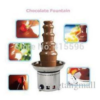 Wholesale Full Stainless Steel Tier Commercial Chocolate Fountain Christmas Wedding Event Party Supplies A3