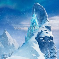 Wholesale 8x8FT Customized Background Frozen Ice Field Photography Studio Backdrop Digital Printing Vinyl