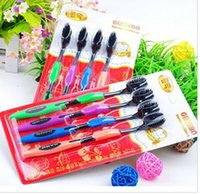 Wholesale Bamboo Toothbrushes Charcoal Toothbrush Odontologia Hot Sale Toothbrush Cheap Bamboo Toothbrush of Dental Care for Soft Brush