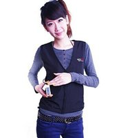 battery heated vests - Fall fashon Autumn and winter thermal vest electric heating vest for health care clothing with V Li on Battery