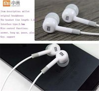 Cheap In-Ear Wired Stereo Headphone headset Remote & Mic Earphone For IPHONE XIAOMI M2 For Samsung Galaxy S3 S4 Note 3 MP3 with retail package DHL