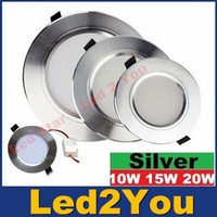 alloy switches - Super slim Dimmable W W W Led Ceiling Downlights Recessed Panel Lights Angle Led Down Lights AC V CE UL SAA