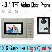 video door entry system - 4 quot TFT Video Door Phone Doorbell Home Security Entry Intercom System Video Recording photo taking