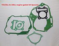 Wholesale set cc cc YX engine gasket non asbestos Pochette de joint moteur Dirt bike cc cc YX