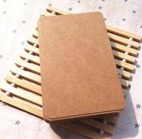 Wholesale 12 CM Kraft paper card christmas postcard greeting postcards DIY scrapbooking paper