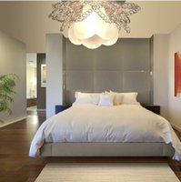 Wholesale 1w lighting chandelier lamps for home modern LED hallway lighting ceiling crystal lampshade led panel V pendant lights A5