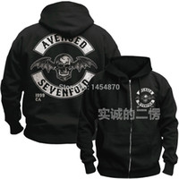avenged sevenfold hoodies - Avenged Sevenfold A7X Cotton Hot Sell Rock hoodies autumn winter jacket high quality brand shirt punk death dark metal