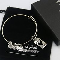 bag copper sets - mm diameter silver plated alex and ani Follow your Charm bracelet with box Drawstring bag