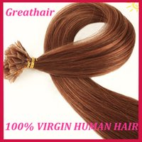 Cheap Flat Tip Hair Extensions Cheap Hair Extensions 18''-28'' 100g 1g strand Brazilian Remy Human Hair 3pcs lot 100 Natural Human Hair