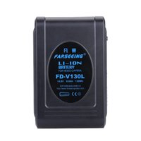 Wholesale FARSEEING FD V130L Multi function battery V Ah Wh V mount Li ion Battery for Video Camera Monitors Microphones Etc order lt no tra