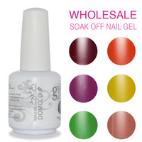 Wholesale 84pcs DHL TNT EMS HIGH QUALITY GELISH GEL NAIL POLISH SOAK OFF LED UV NAIL GEL LACQUER SET BASE COAT TOP COAT