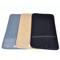 Wholesale High grade Cloth multifunction car CD bag fixed to the sun visor car CD clip Storage Folder Car Accessories F60 QP0050