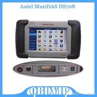 Wholesale 2015 Professional Autel MaxiDAS DS708 Universal Original Autel DS708 Auto Scanner Free Update Online Multi language