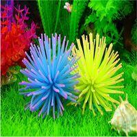 acrylic fish tank diy - DIY Silicone Aquarium Fish Tank Decor Artificial Coral Plant Underwater Ornament Decoration