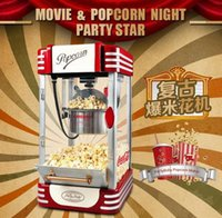 popcorn machine maker - Small popcorn machine family use emotional appeal restoring ancient ways the appearance of the phone booth