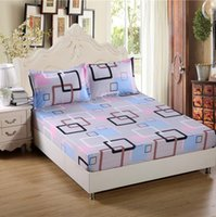 Wholesale 2016 Hot x200cm Fitted Sheet Mattress Cover Bed Sheets Mattress Protector Protect Bed Cover Bedding
